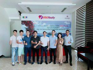Hội Môi Giới BDS Việt Nam về thăm anh em BĐS Vân Đồn.