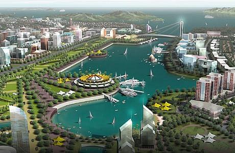 Quảng Ninh phê duyệt điều chỉnh qui hoạch phân khu tỉ lệ 1/2000 Khu vực Cái Rồng hơn 2.800 ha